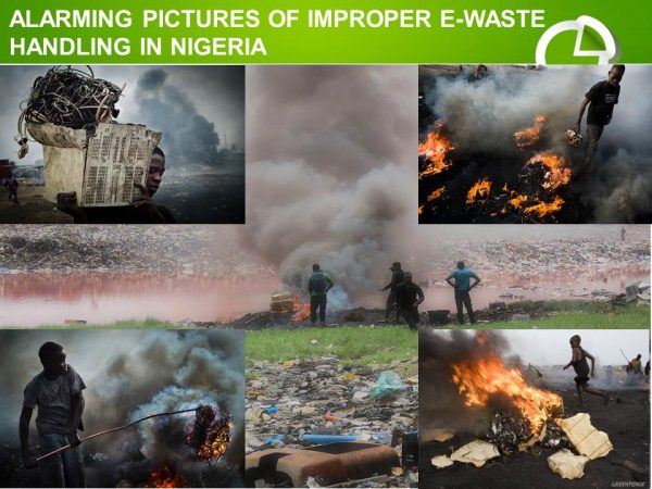 Unprofessional handling of e-waste in Nigeria