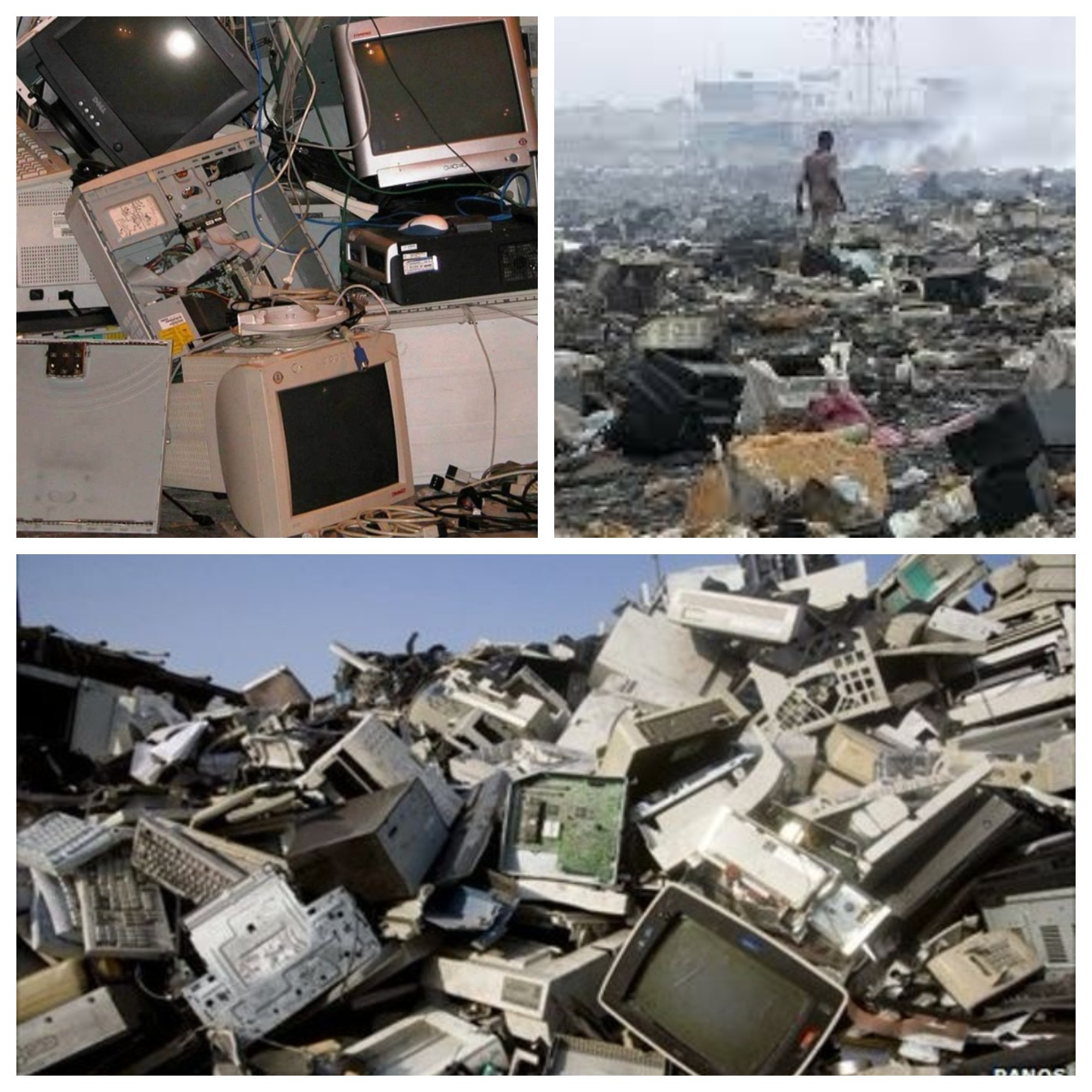E Terra Comes To Rescue Nigeria West Africa From Waste Crisis Electronics Scrap Recycling Pictures